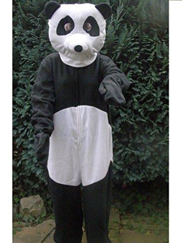 Kostüm Schnee Panda (Panda Bär Faschingskostüm Junggesellenabschied Fastnacht Fasching Kostüm Karnevalskostüm Karneval Pandabär M /)