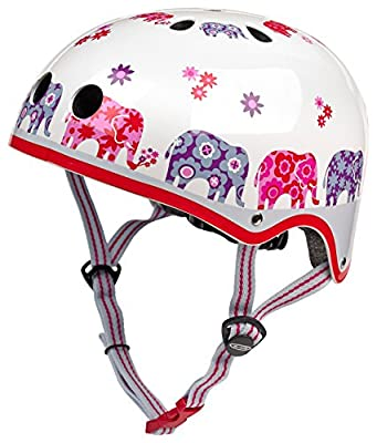 Micro Safety Helmet Elephant Small For Boys And Girls Cycling Scooter Bike by Micro Helmets