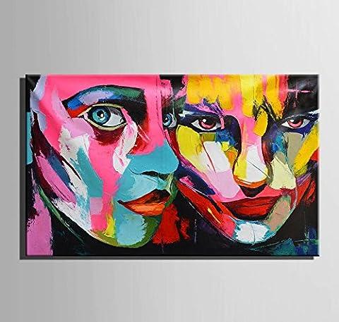 GY&H Art-Color Face Framed Landscape Painting 100% handgemalte Ölgemälde auf
