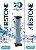 tropical-reef as062Koi Teich oder Aquarium 40x 220mm Keramik Zylinder rund Ausströmer Luft Stein Diffusor