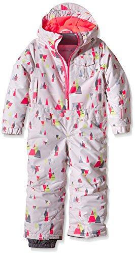 O'Neill Mädchen Skianzug PK Powder Fullsuit, Red Aop W/Pink, 92, 555093