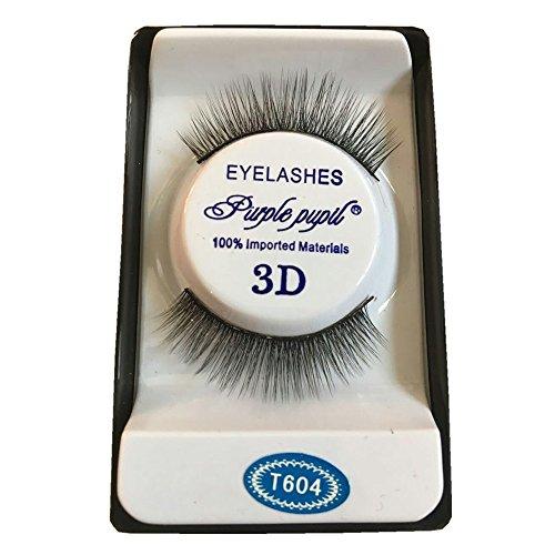 wyxhkj faux cils Outils cosmétiques produits de maquillage 3D doux 10 paires de long maquillage croix épaisse faux cils cils naturels Maquillage quotidien (C)