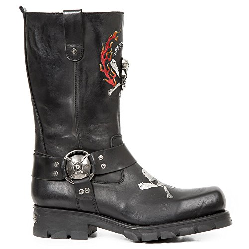 New Rock M.7636-S1 Black