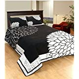 V.R Textile Velvet Bedsheets For Double Bed Premium Chenille 1 Double Bedsheet With 2 Pillow Cover, Size -Bedsheet- 230X250 Cms, Pillow -45X70 Cms