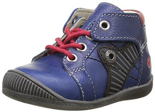 GBB Natale, Chaussures Premiers Pas Bébé Garçon Bleu (12 Vte Bleu/Rouge Dpf/Raiza)