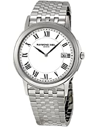 RAYMOND WEIL MEN'S 39MM STEEL BRACELET & CASE SWISS QUARTZ WATCH 5466-ST-00300