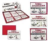 9 x Gutscheine Rubbelkarte Gutscheinkarte NIC Liebe...