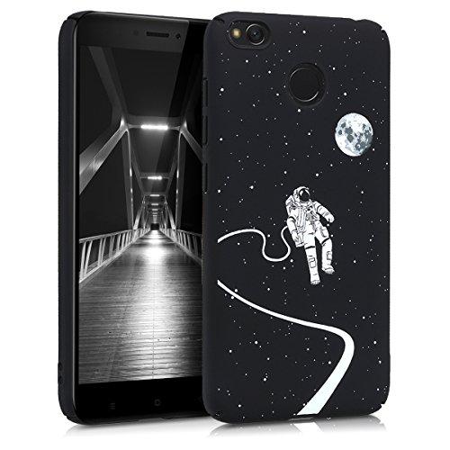 "kwmobile 44856.01 Funda para teléfono móvil 12,7 cm (5"") Folio Negro - Fundas para teléfonos móviles (Folio, Xiaomi, Xiaomi Redmi 4X, 12,7 cm (5""), Negro)"