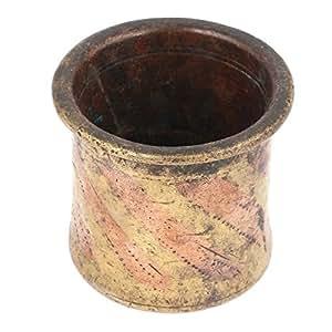 IndianShelf Handmade Brass Charnamrita Cup SBF-530