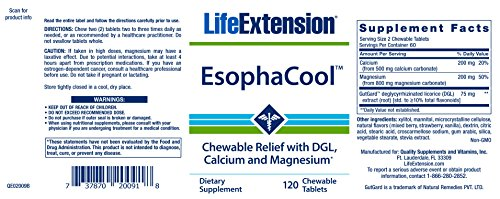 Life Extension EsophaCool, 120 Tablets