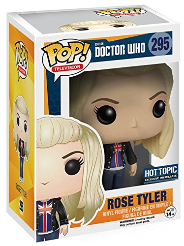 POP Doctor Who Rose Tyler Bad Wolf Vinyl Figure