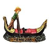 Imán para nevera de resina 3D, diseño de Venezia Italia