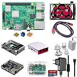 Eruditter Raspberry Pi 3 Modell B + (B Plus) Quad 1,4 GHz WiFi Bluetooth Starter Advanced Kit
