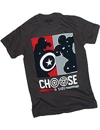 Choose A Side -- Captain America: Civil War Adult T-Shirt