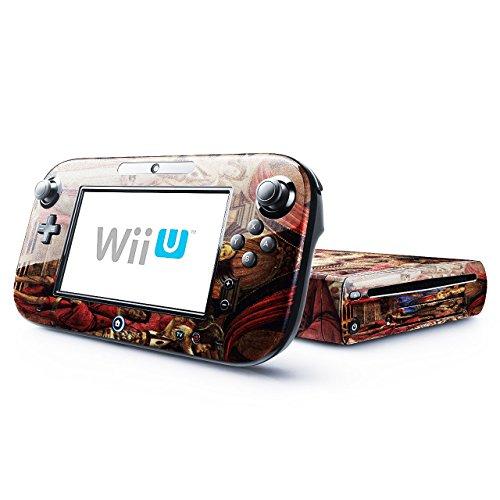 Botticelli - Madonna Throne Of Angels And Saints, Designfolie Sticker Skin Aufkleber Schutzfolie mit Farbenfrohem Design für Nintendo Wii U -