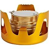 Overmont Mini Estufa de alcohol de cobre, hornillos de ...