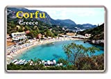 Corfu Greece fridge magnet,!!!! - Calamita da frigo