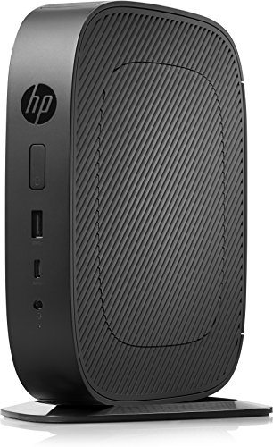 Hewlett Packard Y5X64EA#ABB Desktop PC (AMD A-Series GX-215JJ, 4GB RAM, AMD Radeon R2E, Win 10 Pro) Schwarz