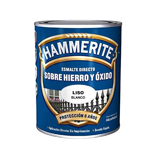 Enamel Antioxidant SMOOTH Shining DIRECT TO IRON HAMMERITE White 5 L.