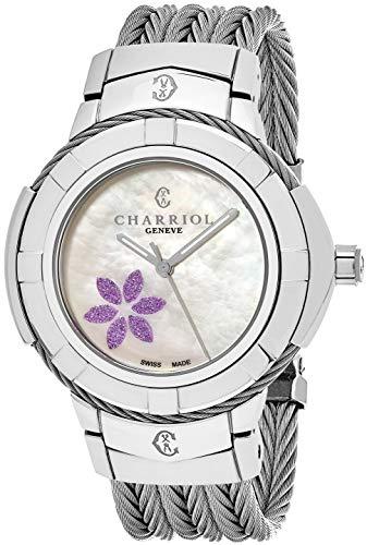 Charriol Celtic CE438S.650.011 - Orologio al quarzo svizzero da donna, 38...