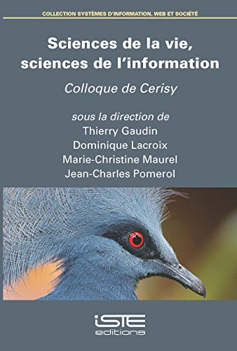Sciences de la vie, sciences de linformation