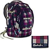 satch by Ergobag Berry Carry 2-teiliges Set Rucksack & Geldbeutel