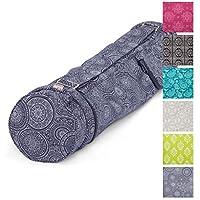 Preisvergleich für Yoga-Tasche ASANA Bag, Maharaja Collection, 100% Baumwolle (Köper), Für Matten bis 80 cm Breite, 5 mm Dicke und 200 cm Länge