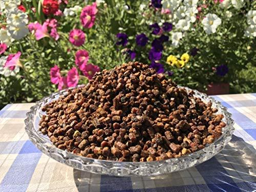 1kg. Bienenbrot, Perga, Fermentierter Blütenpollen, Roh & Naturlich, Ohne Konservierungsstoffe, Ohne Gentechnik, Geeignet für Vegetarier