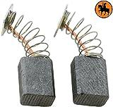 Escobillas de Carbón para MAKITA 3709 fresadora -- 6x9x12mm -- 2.4x3.5x4.7''