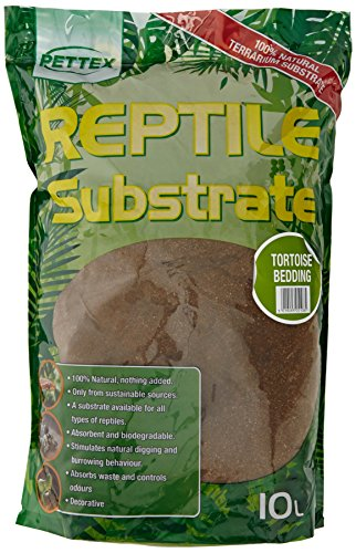 Pettex Reptile Substrate Tortoise Soil Bedding, 10 L Test