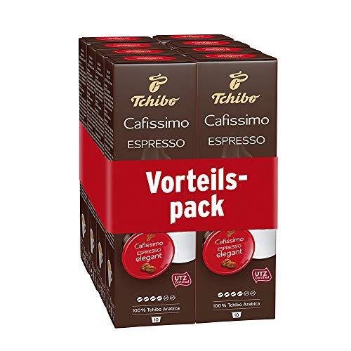Tchibo Cafissimo Espresso elegant Kapseln, 80 Stück (8 x 10 Kapseln)