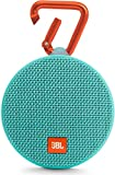 JBL Clip 2 Portable Wireless With Mic Bluetooth Speaker, Teal