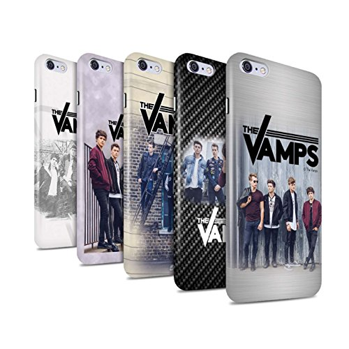 Officiel The Vamps Coque / Clipser Brillant Etui pour Apple iPhone 6S+/Plus / Pack 6pcs Design / The Vamps Séance Photo Collection Pack 6pcs
