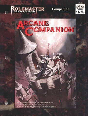 Arcane Companion (Rolemaster Standard System) by T. McGovern (1996-01-06)