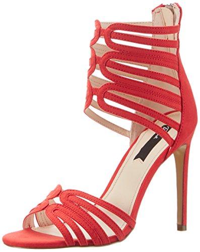 BlinkBl 1311 Bdalanisl - Sandali con Zeppa Donna , rosso (rosso (rosso)), 40