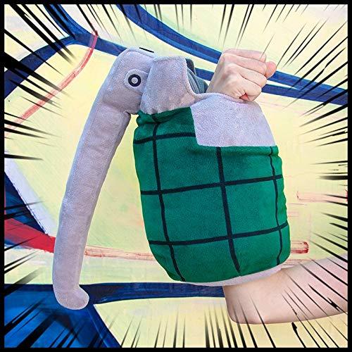 m 1 para Boku No Hero Academia Plüschtier Puppe Bakugou Katsuki Cosplay Handschuhe Spielzeug Requisiten Für Halloween Party Kinder Geschenk ()