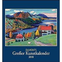 Kunstkalender 2018, DuMonts Großer Kunstkalender, Wandkalender Format 44,5 x 48 cm