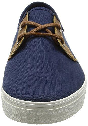 Vans MN Michoacan SF, Sneakers Basses Homme Bleu (Herringbone Twill Dress  Blues) ...