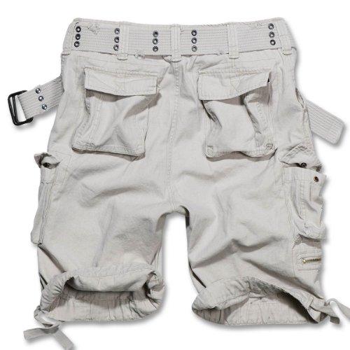 Brandit Savage Vintage Shorts Vintage Shorts schwarz Old White
