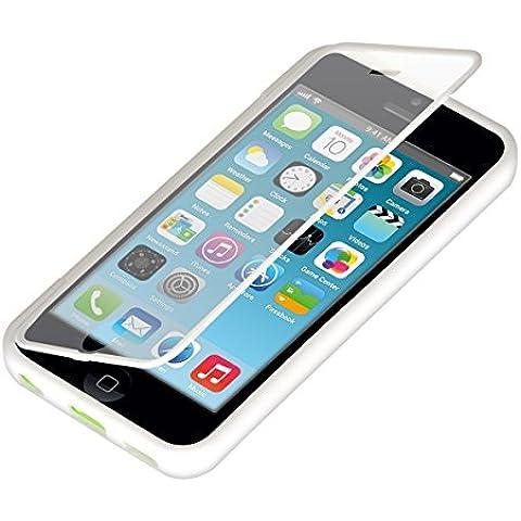 kwmobile Practical cuerpo completo de protección de TPU silicona para el Apple iPhone 5C en Blanco - protección real completa para su Apple iPhone