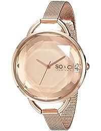 SO & CO New York SoHo 5104.4 - Reloj de pulsera Cuarzo Mujer correa deAcero inoxidable Oro Rosa