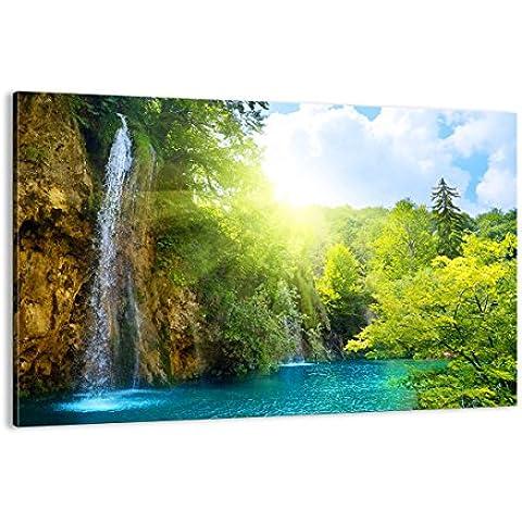 Cuadro sobre lienzo - de una sola pieza - Impresión en lienzo - Ancho: 120cm, Altura: 80cm - Foto número 0157 - listo para colgar - en un marco -