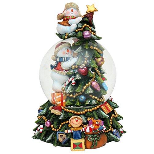 Árbol de Navidad con sonido y figuras mágicas (22,8 cm)