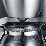 Severin KA 4805 Kaffeeautomat (650 Watt, 0,46 L, Automatische Abschaltung) Edelstahl gebürstet/schwarz - 5