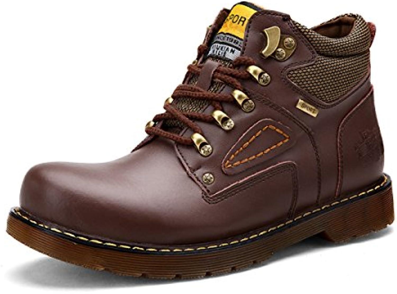 Otoño Informal Botas Martin Botas De Herramientas Botas De Ejército High-top Hombres Zapatos Grandes Aumento De  -