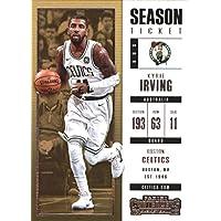 2017–18Dépasse Panini Season Ticket # 27Kyrie Irving Boston Celtics Basketball carte