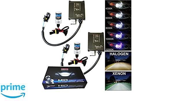 32 V 35W CANBUS Xenon Retrofit Kit with H7 6000 K HID Xenon Burner Lamp ballast and Mounting Material no flickering no error messages Akhan Digital 9