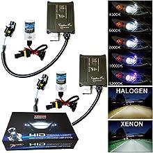 Akhan Digital 9-32 v 35W cANBUS h7 Xenon kit kit d'extension 10000 k + au xénon hID Ballast/Lampe et de Montage matériau sans Message d'erreur, Pas de Scintillement