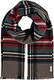 FRAAS Schal mit Karo-Design aus reinem Kaschmir - Made in Germany Taupe