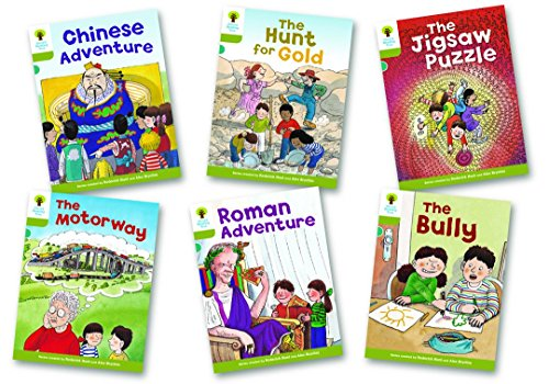 Oxford Reading Tree Biff, Chip and Kipper Level 7. More Stories: Mixed Pack of 6